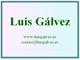 Luis G�lvez, luisgalvez